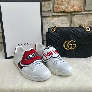 Gucci Shoes - ❤️Gucci 'Blind For Love' Shoes 👟 ❤️